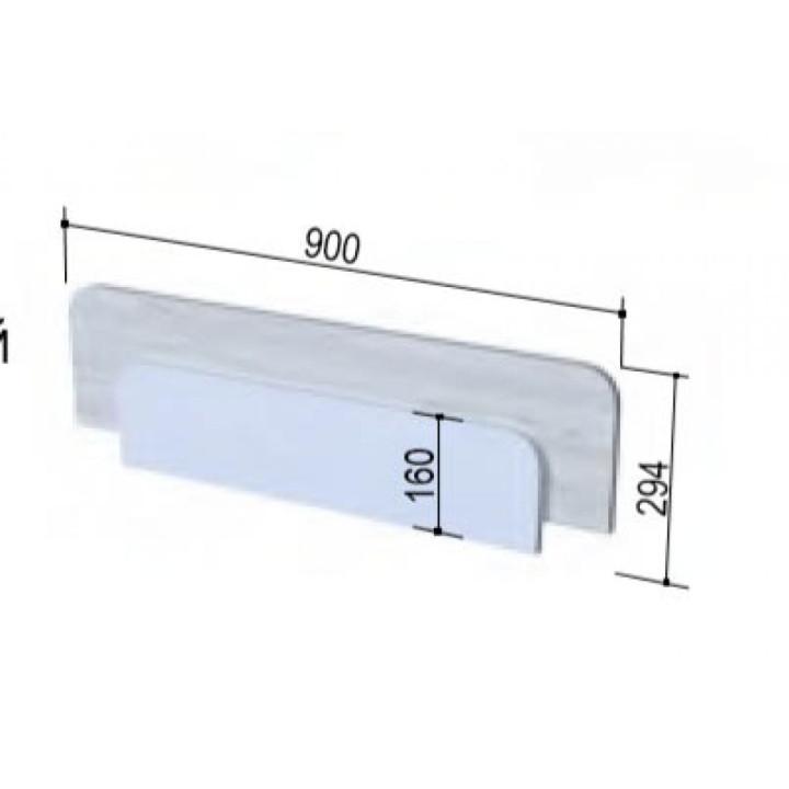 «Бриз»  Бортик защитный 900*48*294 мм